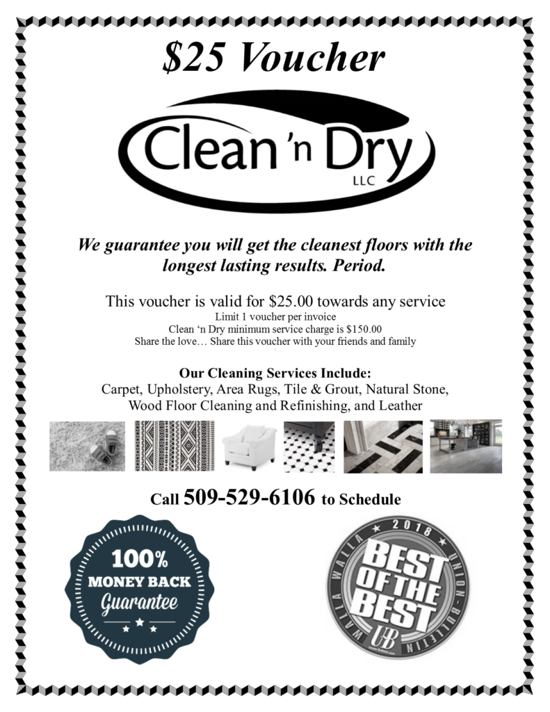 Download Your Voucher Clean N Dry